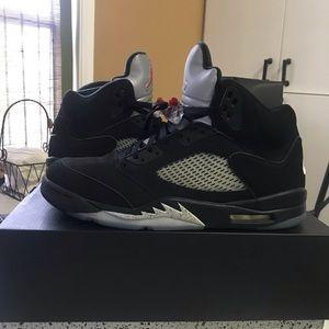 Jordan Retro OG 5 Black/Metallic SIZE 14